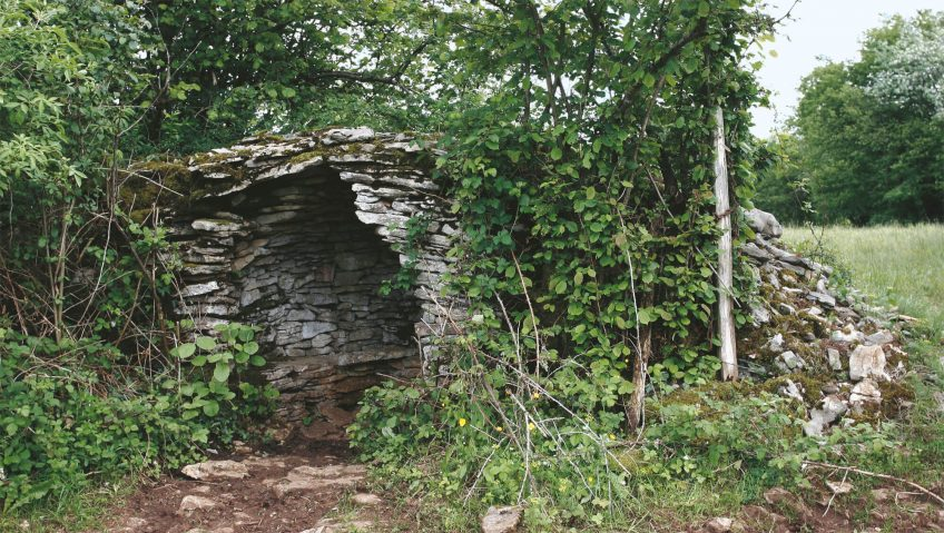 Déclin programmé des murs de pierres - La Salamandre