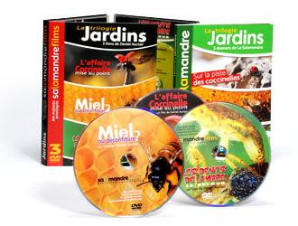 Livres et CD - La trilogie Jardins