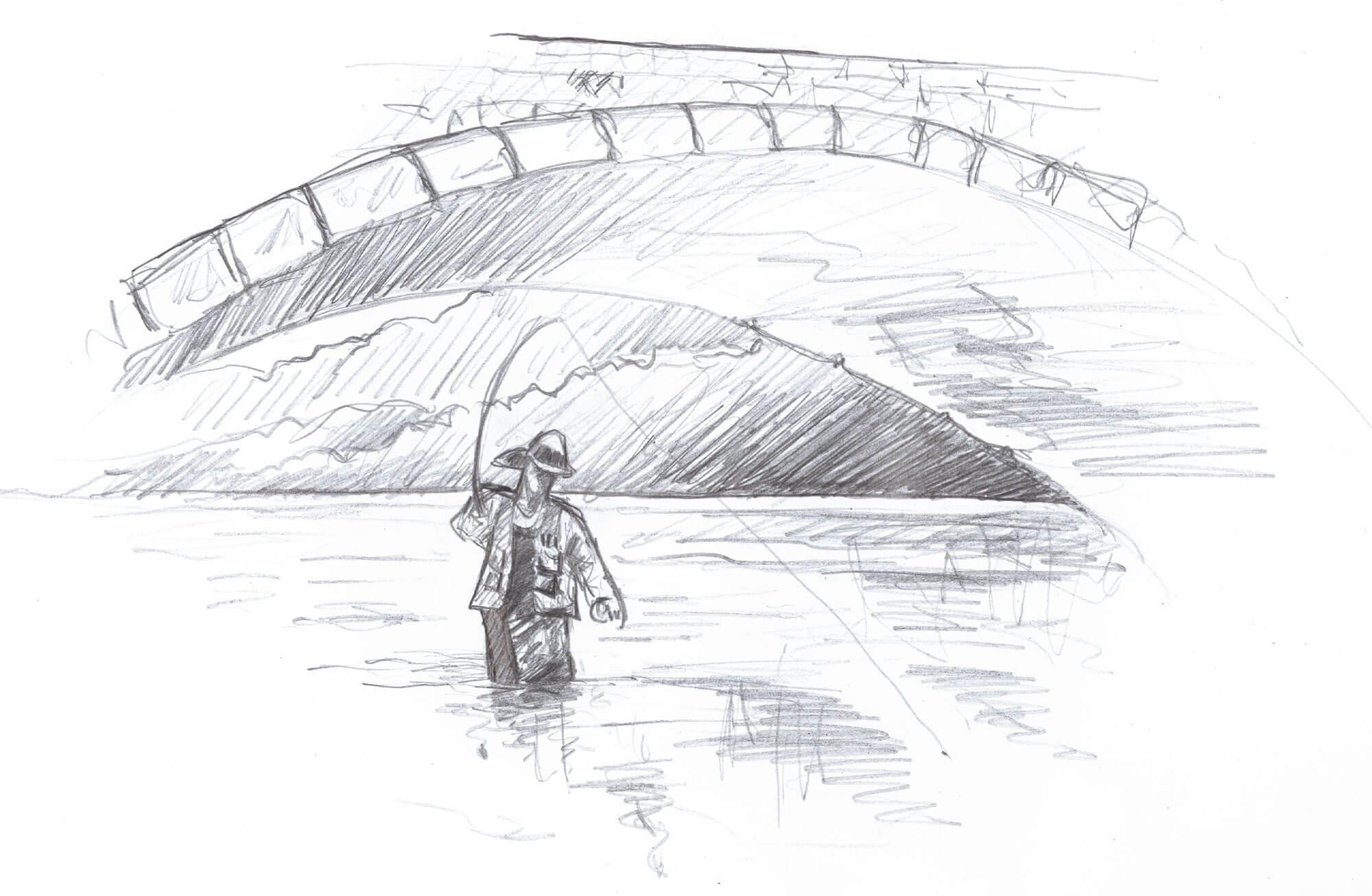 Des ponts de pierre pour passer la rivière - La Salamandre