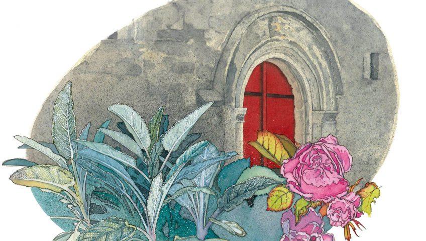 L'herboriste au pinceau, aquarelles - La Salamandre