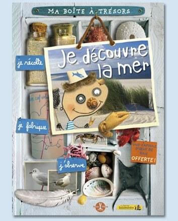 """Livre jeunesse Boite à trésors """"Je découvre la mer"""""""