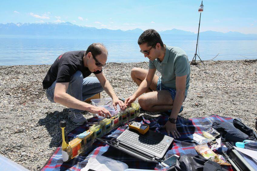 Un robot-anguille détecteur de pollution - La Salamandre