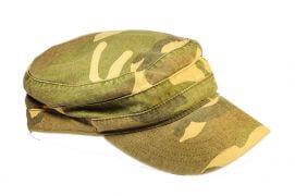 Une casquette avec un tein camouflage / © Patrick Luneau