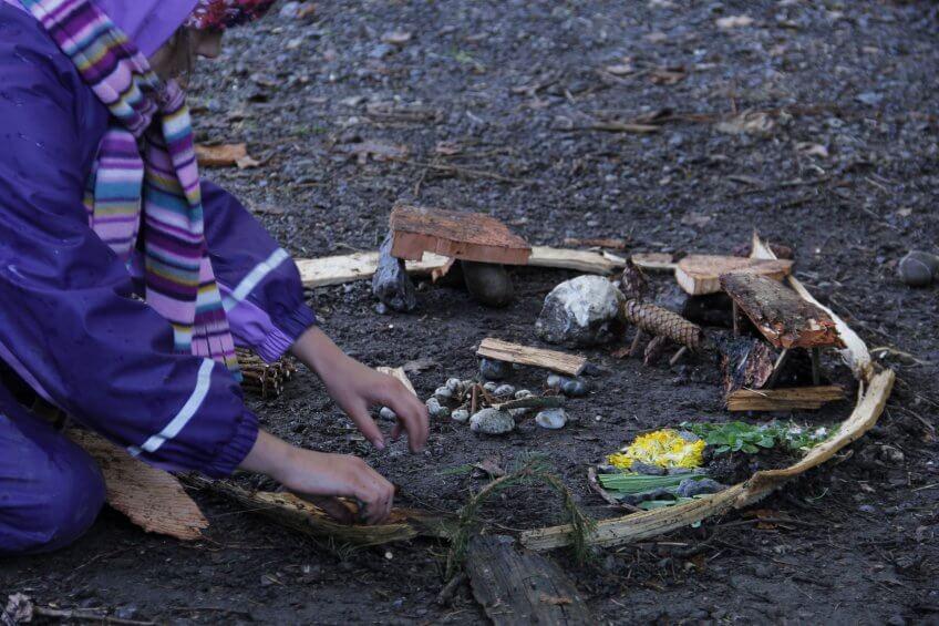 Un model de lieu parfait réalisé par un enfant.