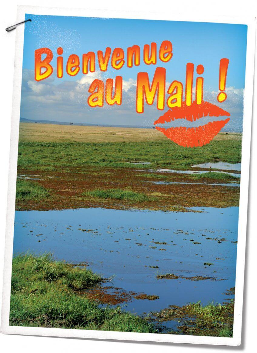 Carte postale Mali