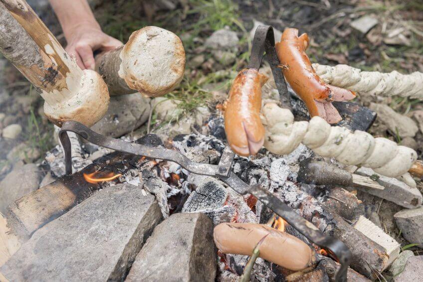 La cuisine de bannock-Burger