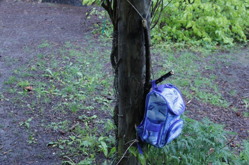 Un arbre vestiaire.