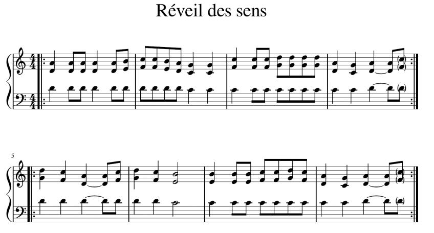 Sinnsang – Réveil des sens – Song of senses
