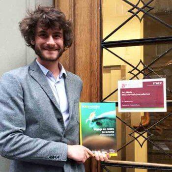 Prix de journalisme pour La Salamandre