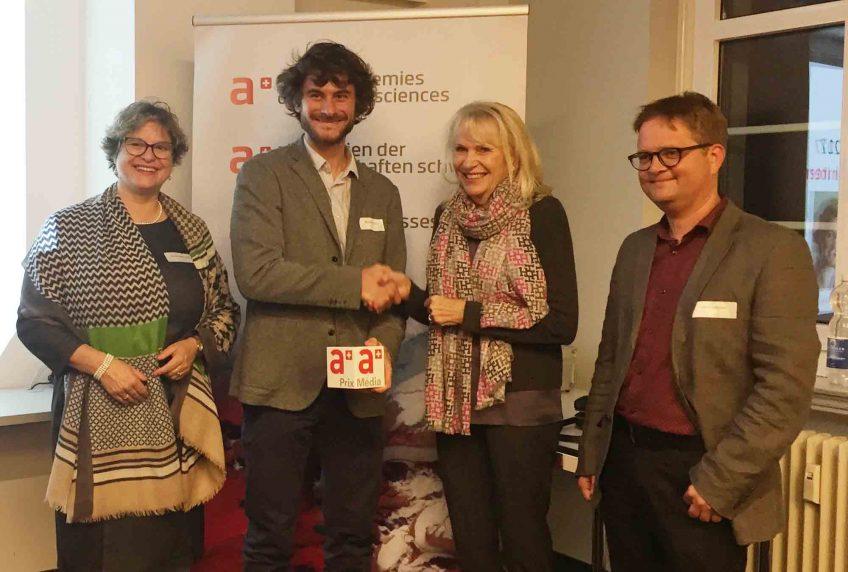 Prix de journalisme pour La Salamandre et Alessandro Staehli