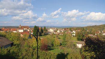 Le village de Saint-Rémz (Haute-Saône)