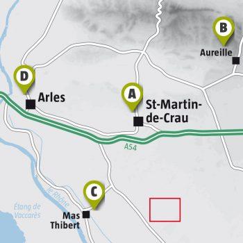 Balade dans la plaine de Crau à la recherche du ganga cata