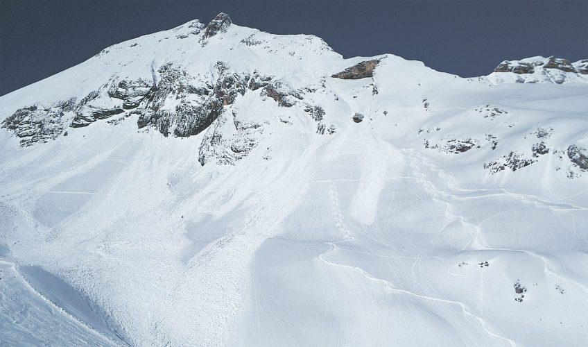 Il faut beaucoup d'expérience pour lire la montagne et savoir reconnaître les zones les plus dangereuses.
