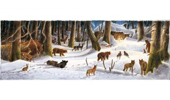 Noël sous la neige. Une réalité dans les Alpes, ailleurs un mythe romantique la plupart du temps.