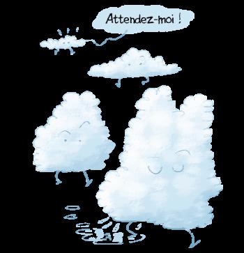 Cumulus à la traîne