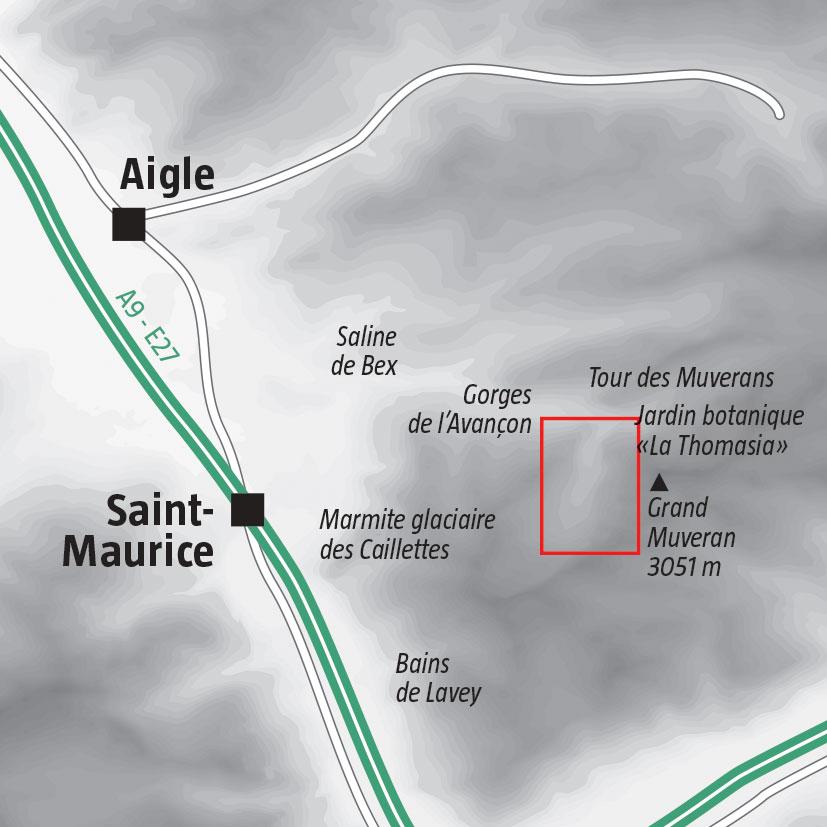 Le vallon de Nant, balade entre parois rocheuses et torrent