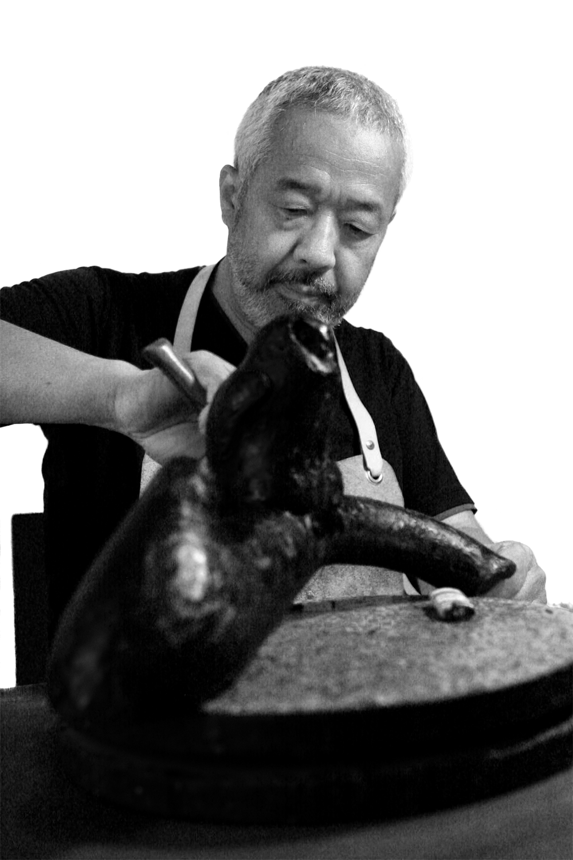 Les sculptures animales en bronze de Tsunéhiko Kuwabara - La Salamandre