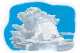 Cumulus humilis : apparaît par beau temps / © Cécile Aquisti