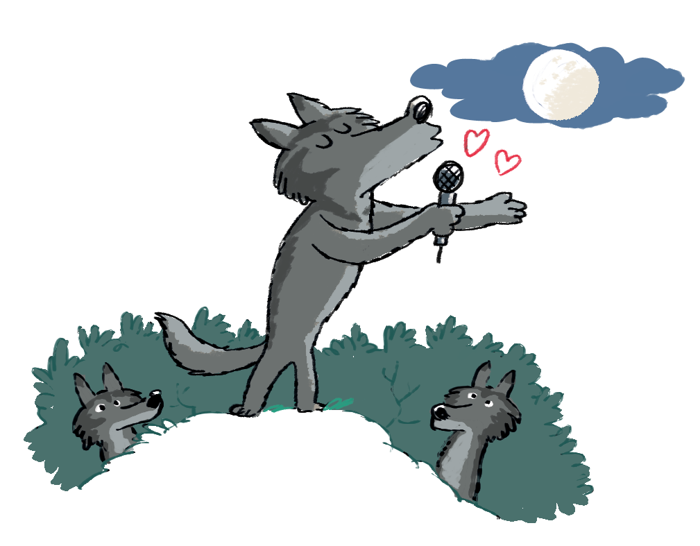 Les Loups Hurlent Ils Sous La Lune Les Soirs De Pleine Lune