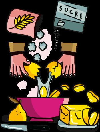Mettre les ingrédients dans un récipient