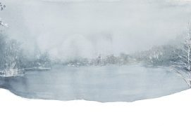 Lac de Longemer 95 x 33 cm / © Ji Young Demol Park