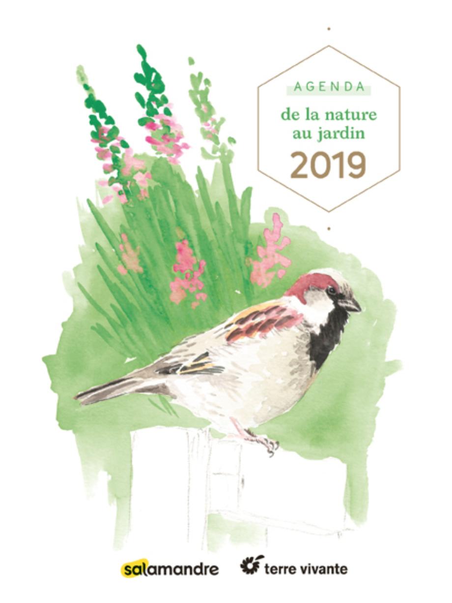 Agenda de la nature au jardin 2019 Salamandre TV