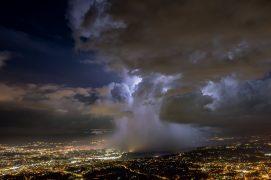 Cellule orageuse sur Genève / © Dean Gill