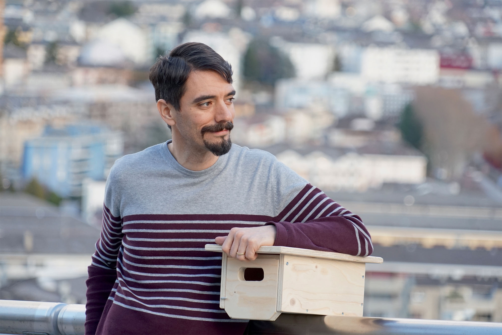 Juan Manuel Martinez lutte pour préserver les zones de nidification du martinet