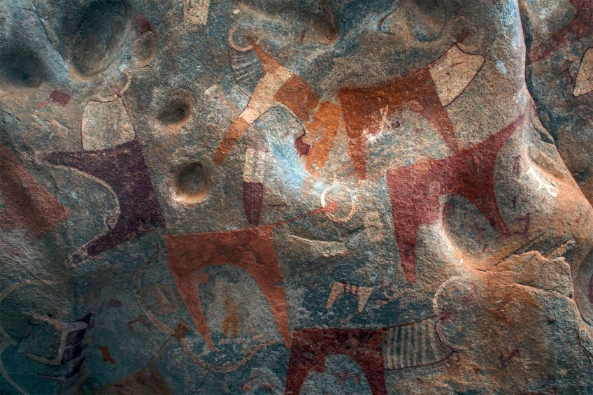 Les couleurs dans la culture humaine de la préhistoire à nos jours