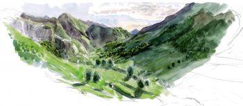 Vallée des Pyrénées