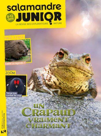 Couverture de La Salamandre Junior n°134