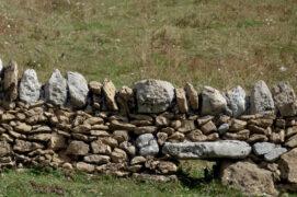 Des passages dans les murs de pierres sèches facilitent les déplacements de la faune. / © Lucas Michelot