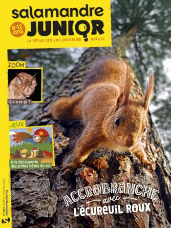 Couverture du magazine jeunesse