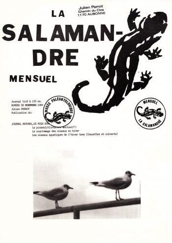 Couverture de La Salamandre n°14