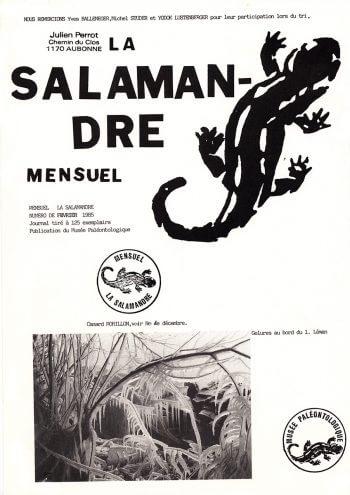 Couverture de La Salamandre n°17