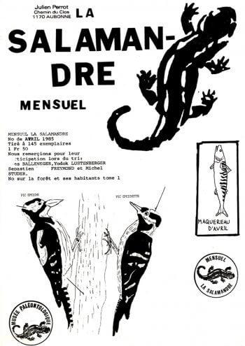 Couverture de La Salamandre n°19
