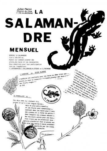 Couverture de La Salamandre n°24