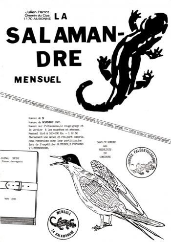 Couverture de La Salamandre n°25