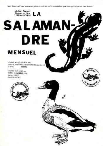 Couverture de La Salamandre n°15