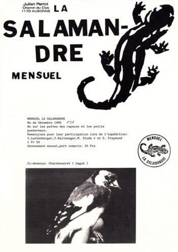 Couverture de La Salamandre n°26