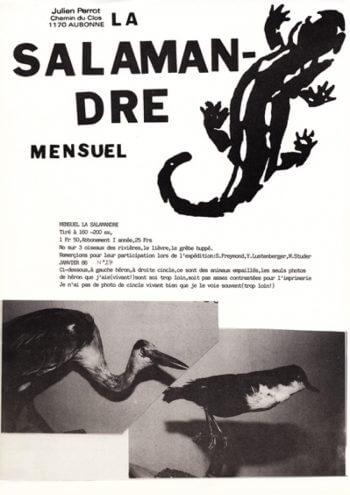 Couverture de La Salamandre n°27
