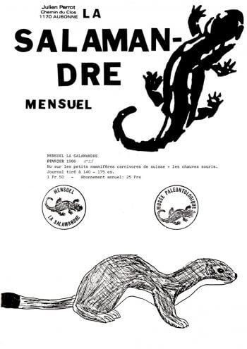 Couverture de La Salamandre n°28
