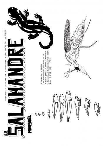 Couverture de La Salamandre n°29