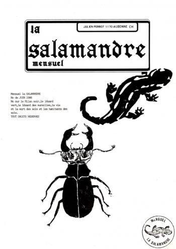 Couverture de La Salamandre n°32