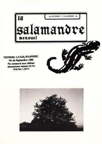 Couverture de La Salamandre n°33