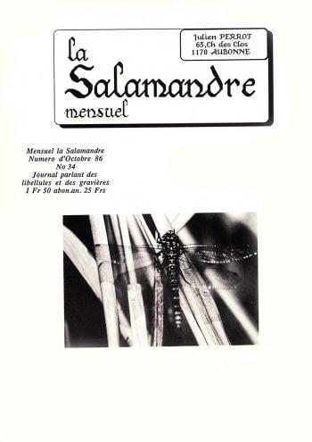 Couverture de La Salamandre n°34