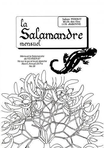 Couverture de La Salamandre n°38