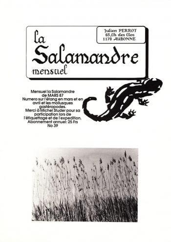 Couverture de La Salamandre n°39