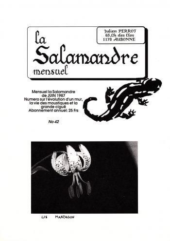 Couverture de La Salamandre n°42