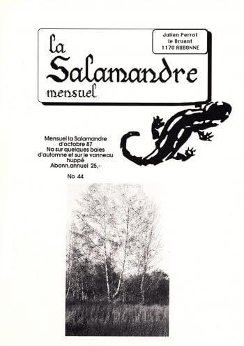 Couverture de La Salamandre n°44
